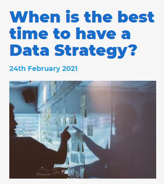 Best Time for Data Strategy